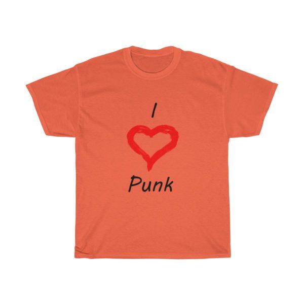 I Love Punk Unisex Heavy Cotton Tee 2