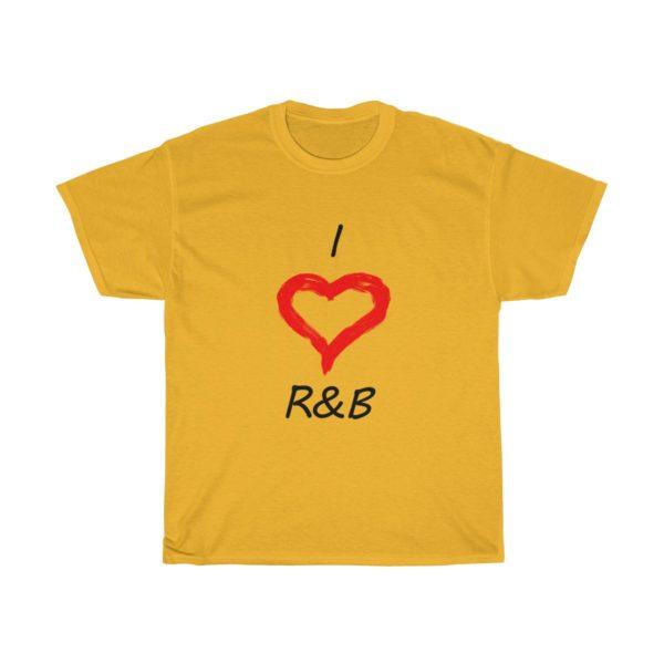I Love R&B Unisex Heavy Cotton Tee 5