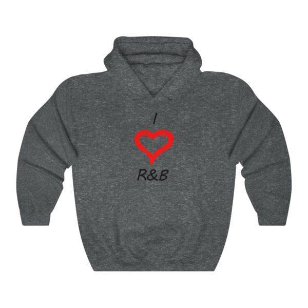 I Love R&B Unisex Heavy Blend™ Hooded Sweatshirt 6