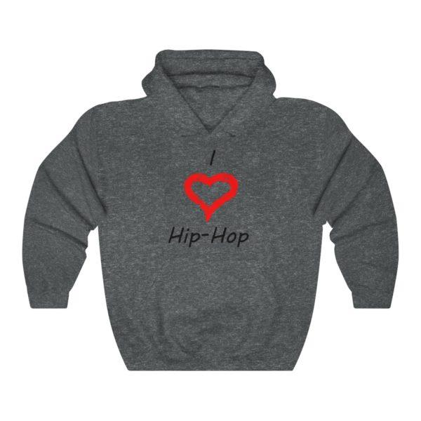I Love Hip-Hop Unisex Heavy Blend™ Hooded Sweatshirt 6