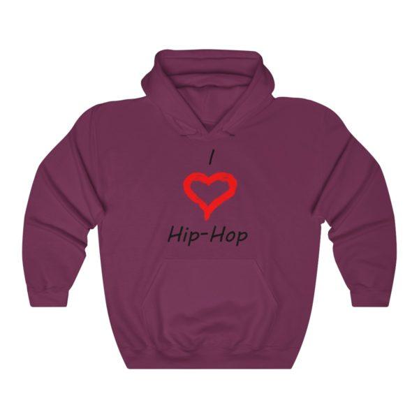I Love Hip-Hop Unisex Heavy Blend™ Hooded Sweatshirt 13