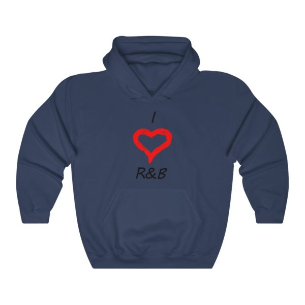 I Love R&B Unisex Heavy Blend™ Hooded Sweatshirt 10