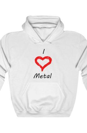 I Love R&B Unisex Heavy Blend™ Hooded Sweatshirt 18