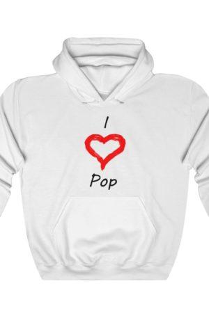 I Love R&B Unisex Heavy Blend™ Hooded Sweatshirt 17