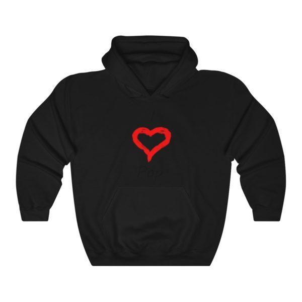 I Love Pop Unisex Heavy Blend™ Hooded Sweatshirt 2