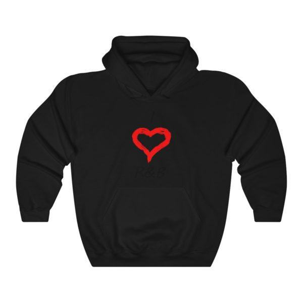I Love R&B Unisex Heavy Blend™ Hooded Sweatshirt 2