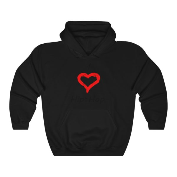 I Love Hip-Hop Unisex Heavy Blend™ Hooded Sweatshirt 2