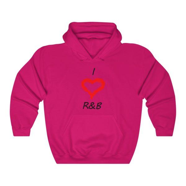 I Love R&B Unisex Heavy Blend™ Hooded Sweatshirt 12