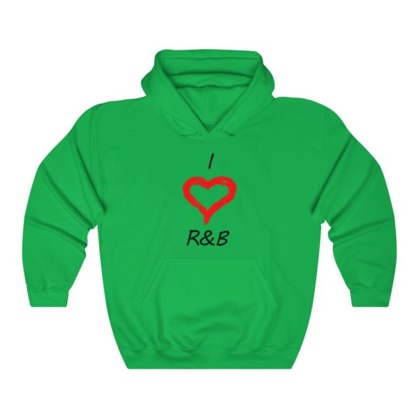 I Love R&B Unisex Heavy Blend™ Hooded Sweatshirt 5