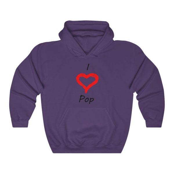 I Love Pop Unisex Heavy Blend™ Hooded Sweatshirt 11