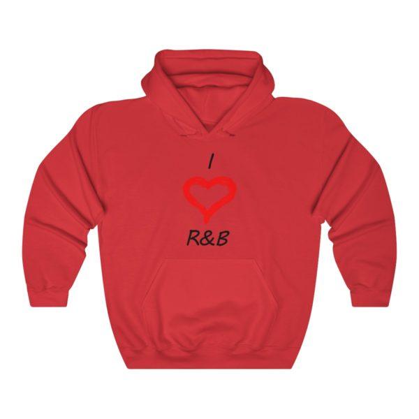 I Love R&B Unisex Heavy Blend™ Hooded Sweatshirt 14