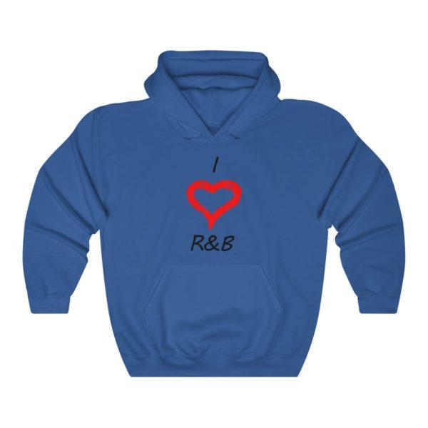 I Love R&B Unisex Heavy Blend™ Hooded Sweatshirt 9