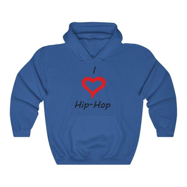 I Love Hip-Hop Unisex Heavy Blend™ Hooded Sweatshirt 9