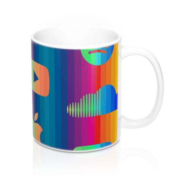 Music Streaming Mug 11oz 1