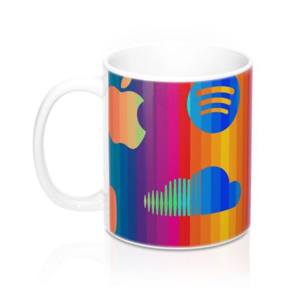 Music Streaming Mug 11oz 3