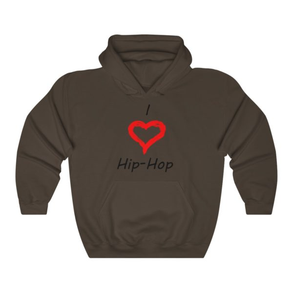 I Love Hip-Hop Unisex Heavy Blend™ Hooded Sweatshirt 4
