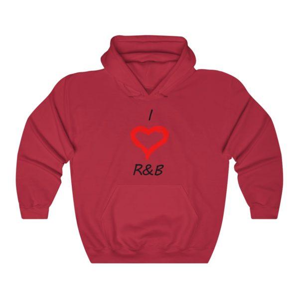 I Love R&B Unisex Heavy Blend™ Hooded Sweatshirt 15