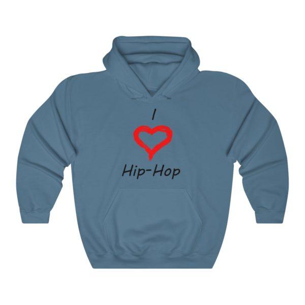 I Love Hip-Hop Unisex Heavy Blend™ Hooded Sweatshirt 8