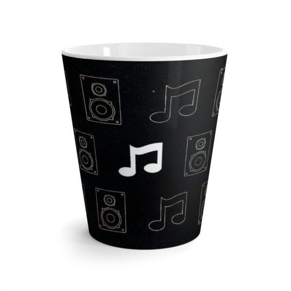 Music Themed Latte mug 2