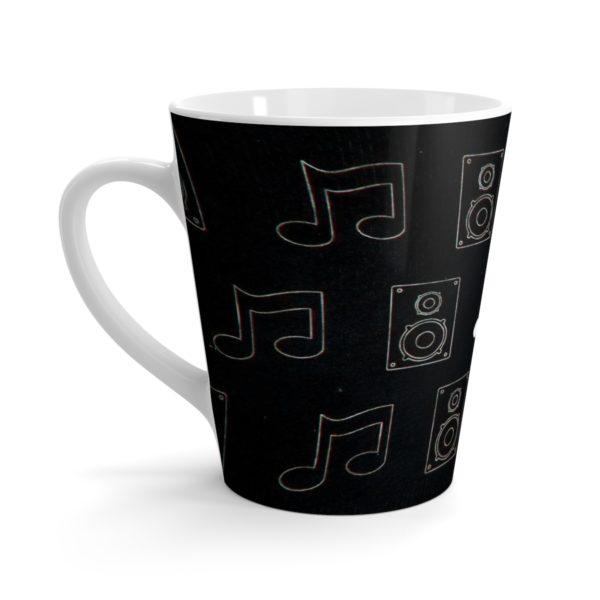 Music Themed Latte mug 3
