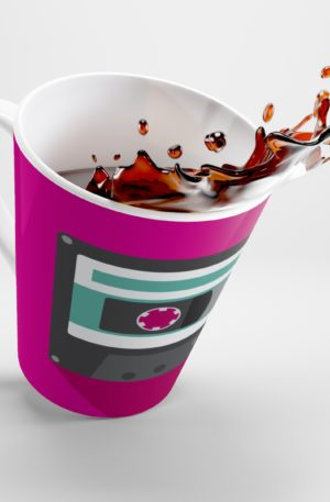 Keep Calm and Karaoke Latte mug 5