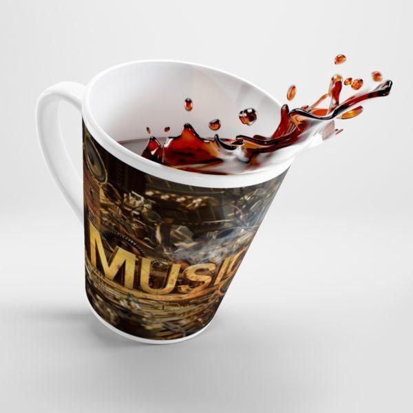 Music Themed Latte mug 1