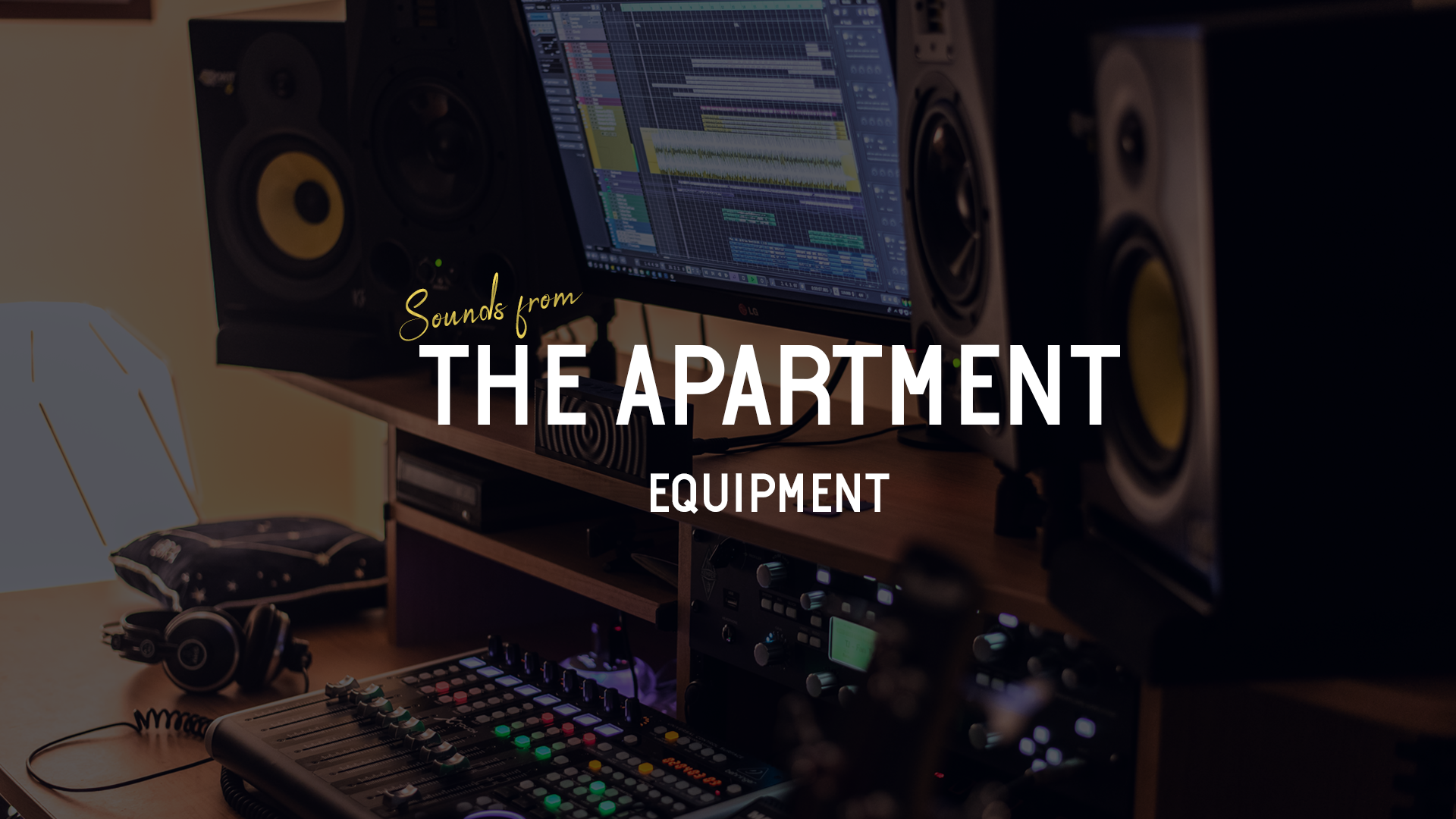 Sounds from the apartment article equipment