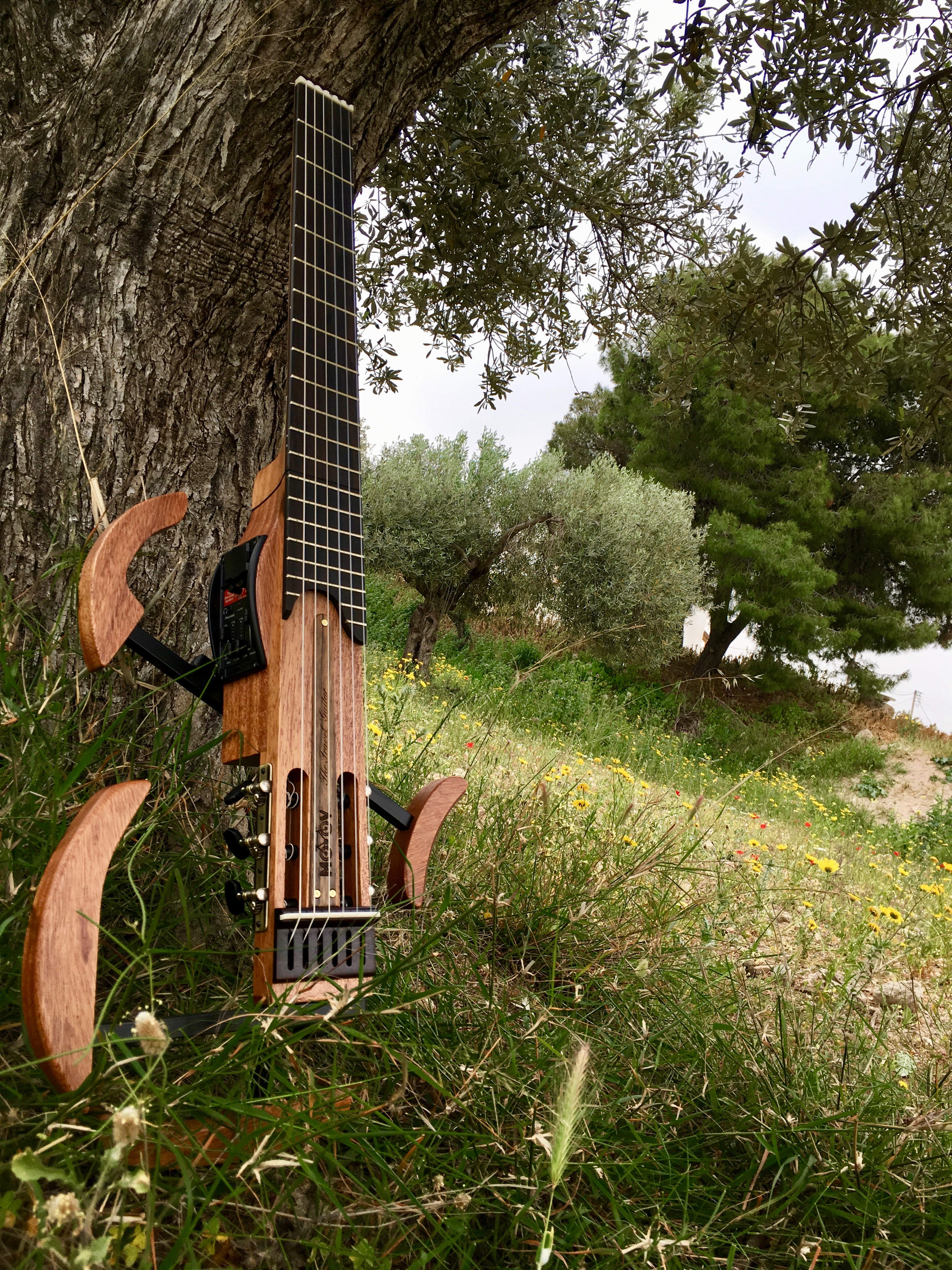 MOOV Travel Guitar grass