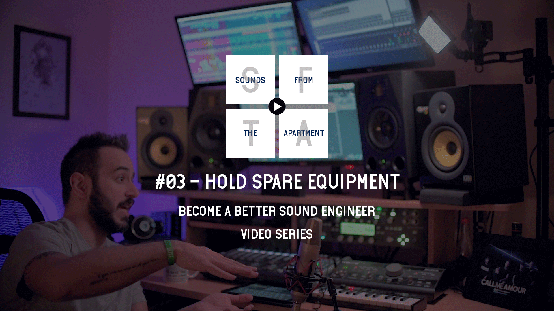 Hold Spare Equipment Become A Better Sound Engineer