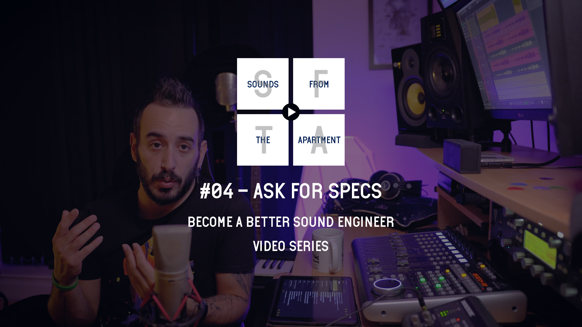 Ask For Specs Become A Better Sound Engineer