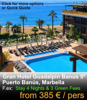 Guadalpin Banus 5 Star Luxury hotel