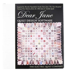 Dear Jane Quilt Design Software Brenda Papadakis