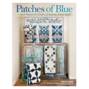 Edyta Sitar Patches Of Blue Patchwork Book Bog