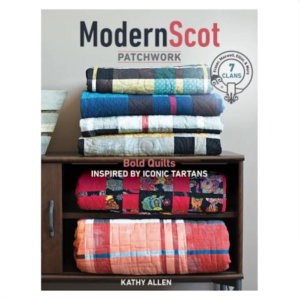 Kathy Allen Modern Scot Patchwork Kilt Book Bog