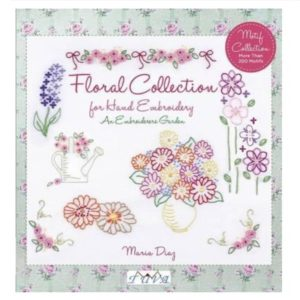 Maria Diag Embroiderers Garden Floral Collection Book Bog Broderi