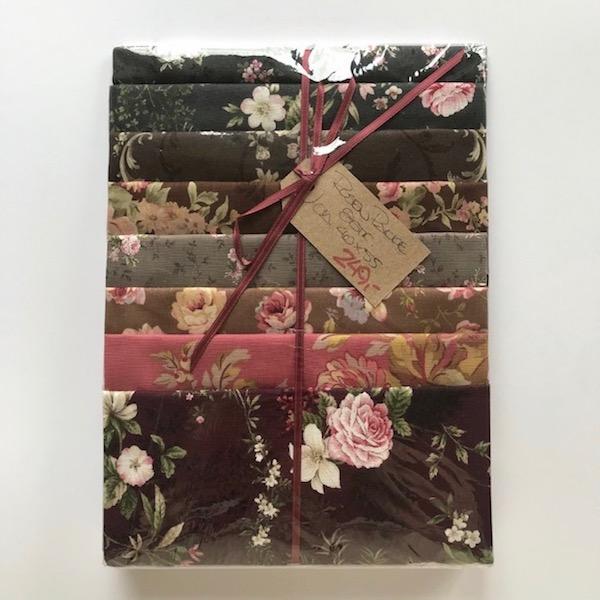 Rosenpakke Stof Tekstil Patchwork