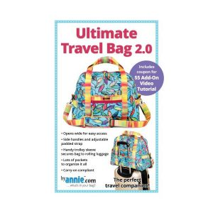 Ultimate Travel Bag 2.0 syvejledning by Annie