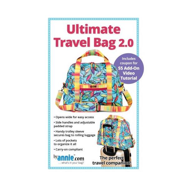 Ultimate Travel Bag 2.0 syvejledning by Annie