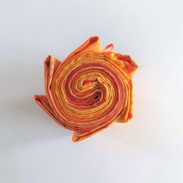 Bali Stofbundt Orange