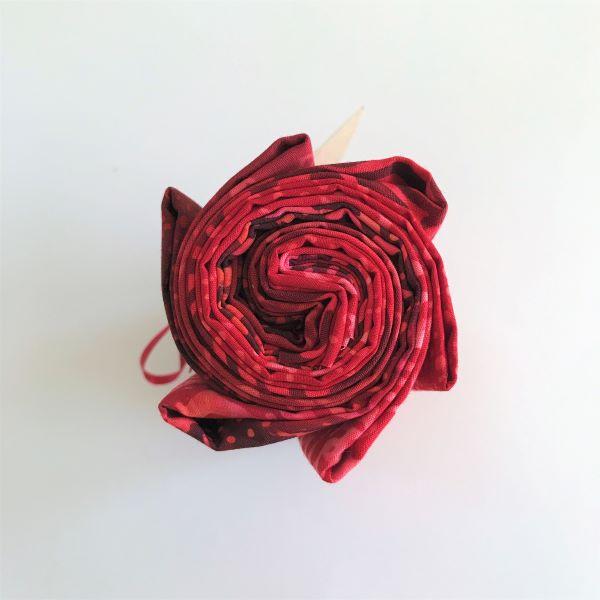 Bali Stofbundt Rød