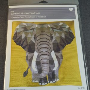 Paper Piecing elephant