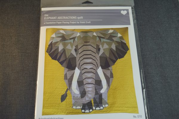 Paper Piecing elephant