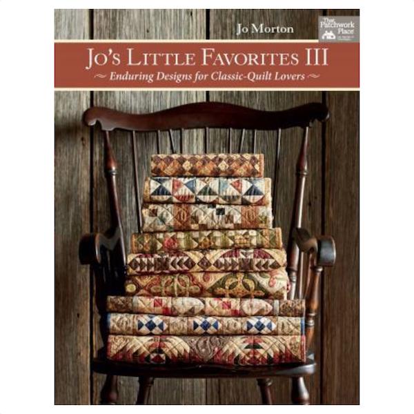 Jo Morton Jos Little Favorites III Book Bog Patchwork