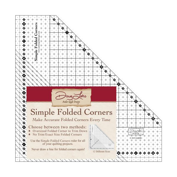 Simple Folded Corners Ruler