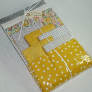 Elefant tæppe gul/grå