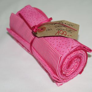 Stofbundt pink