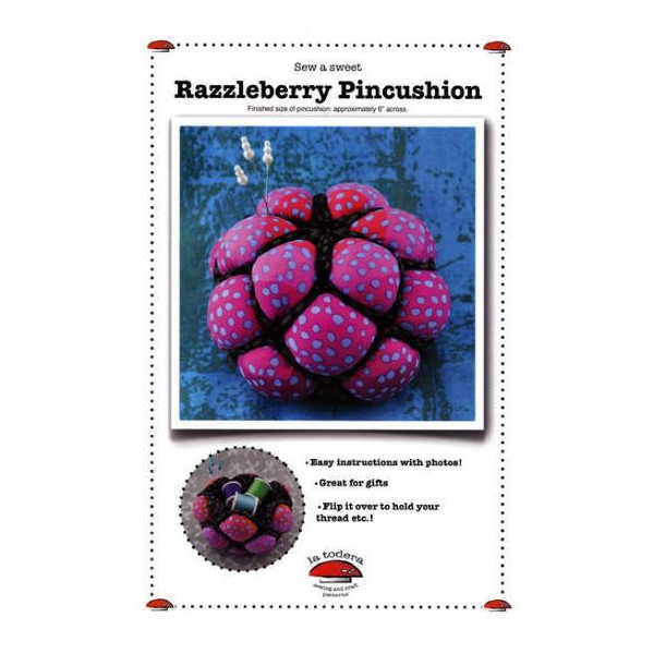 Razzleberry Pincushion Nålepude Hindbær Brombær