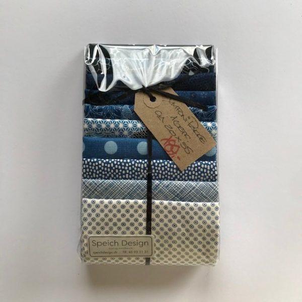 Speich Design Symfoni blå Stofpakke patchwork