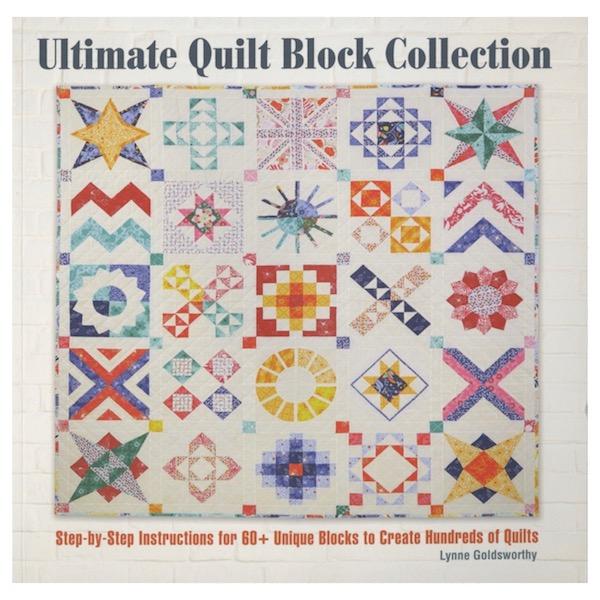 Lynne Goldsworthy Ultimate Quilt Block Collection Book Bog Patchwork