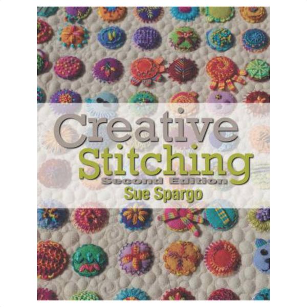 Sue Spargo Folk-art quilts Creative Stitching